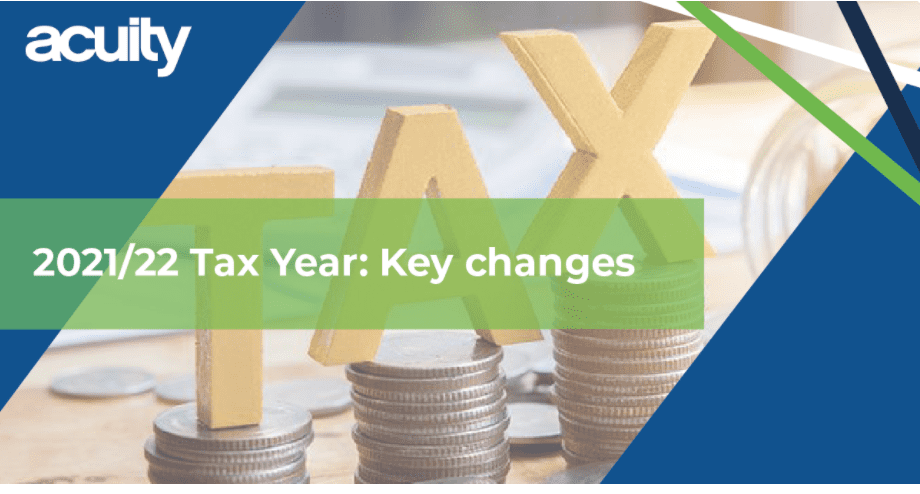 new tax year key changes