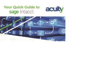 Sage Intacct Quick Guide Snippet