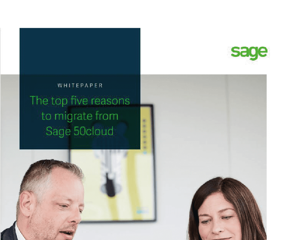 top 5 reasons to migrate from sage 50 feature image
