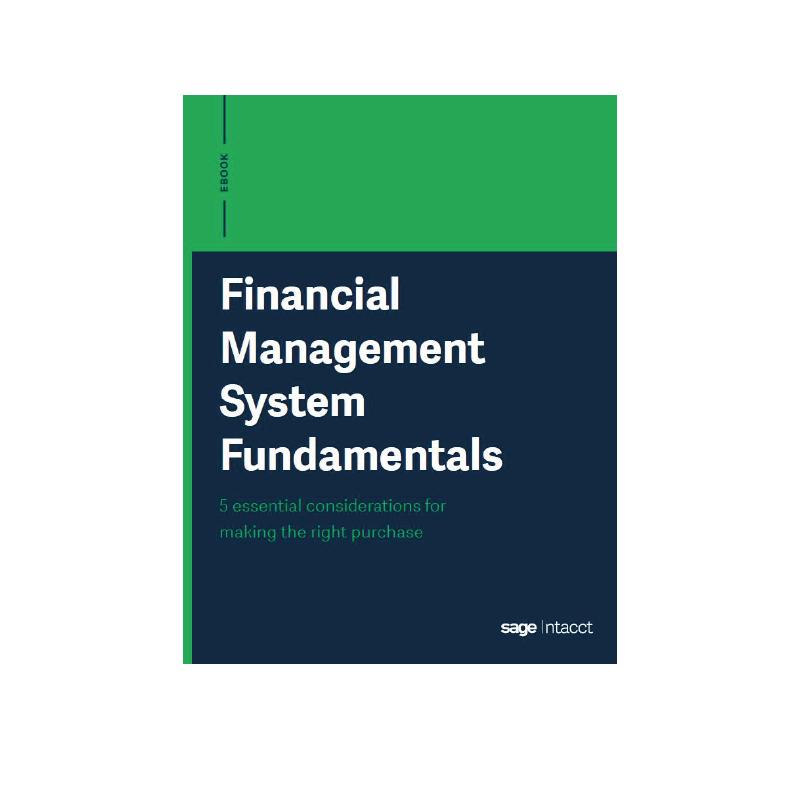 financial management system fundamentals