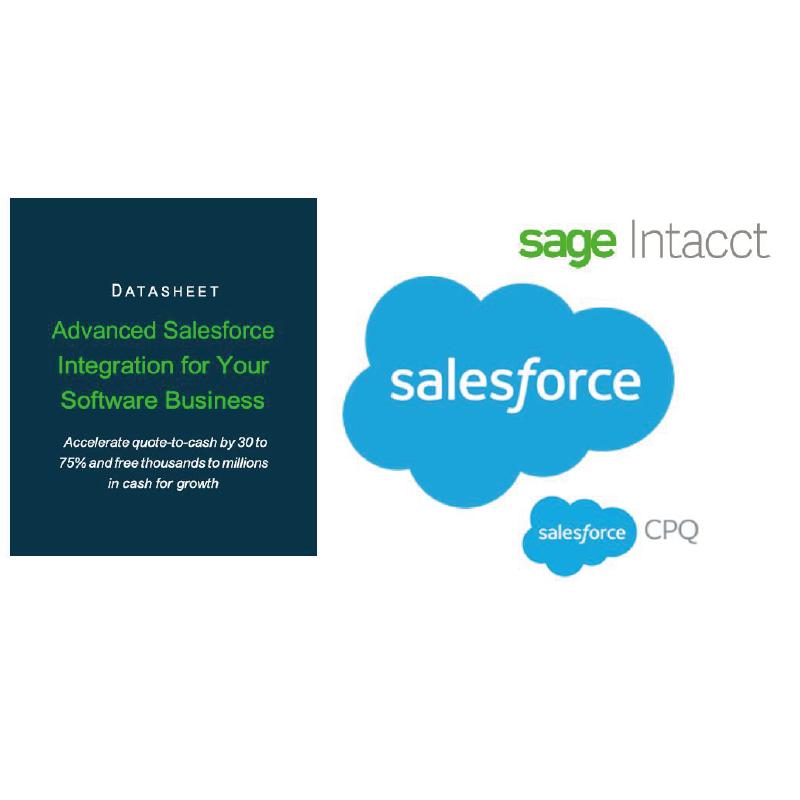 salesforce integration datasheet