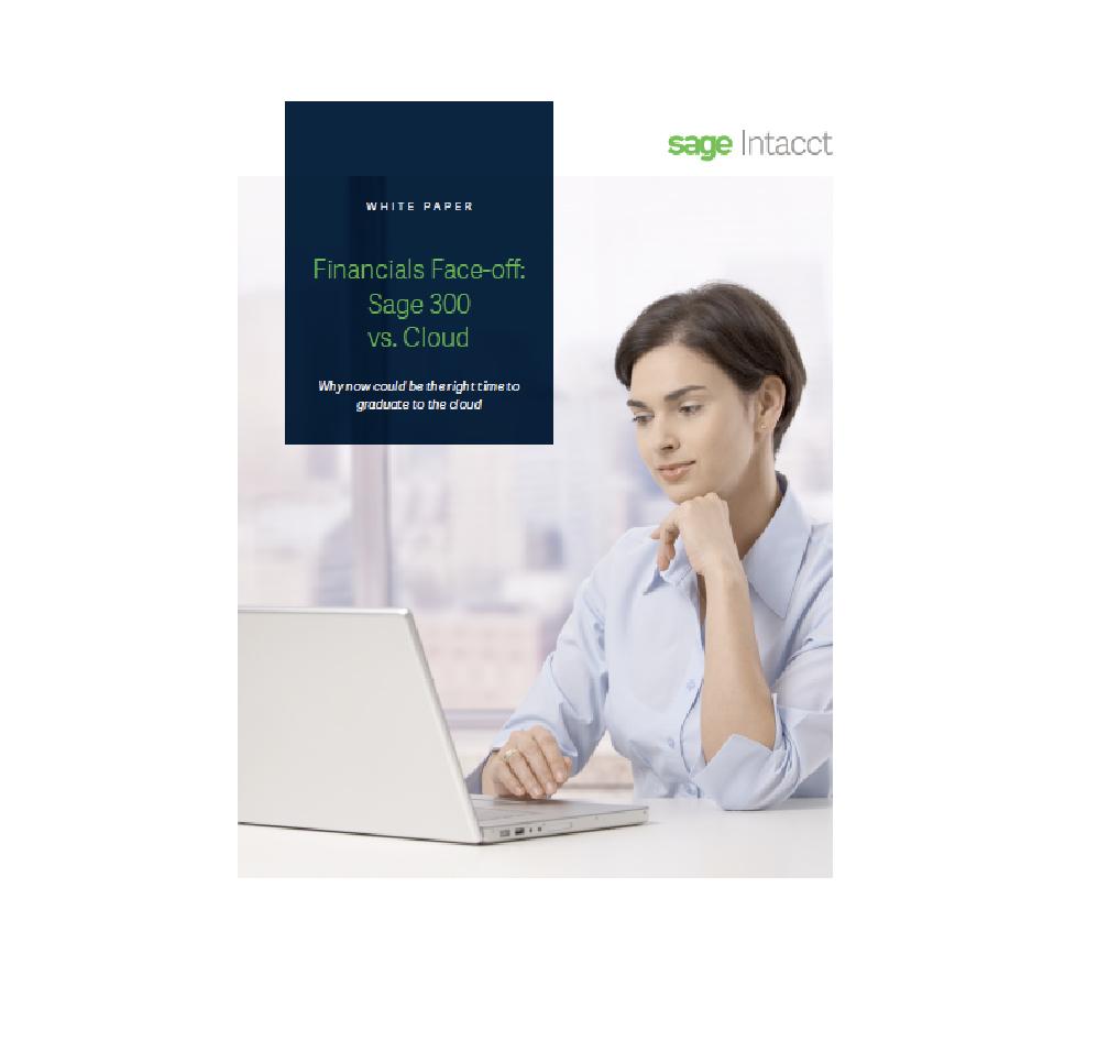 Financial Face-off: Sage 300 vs cloud