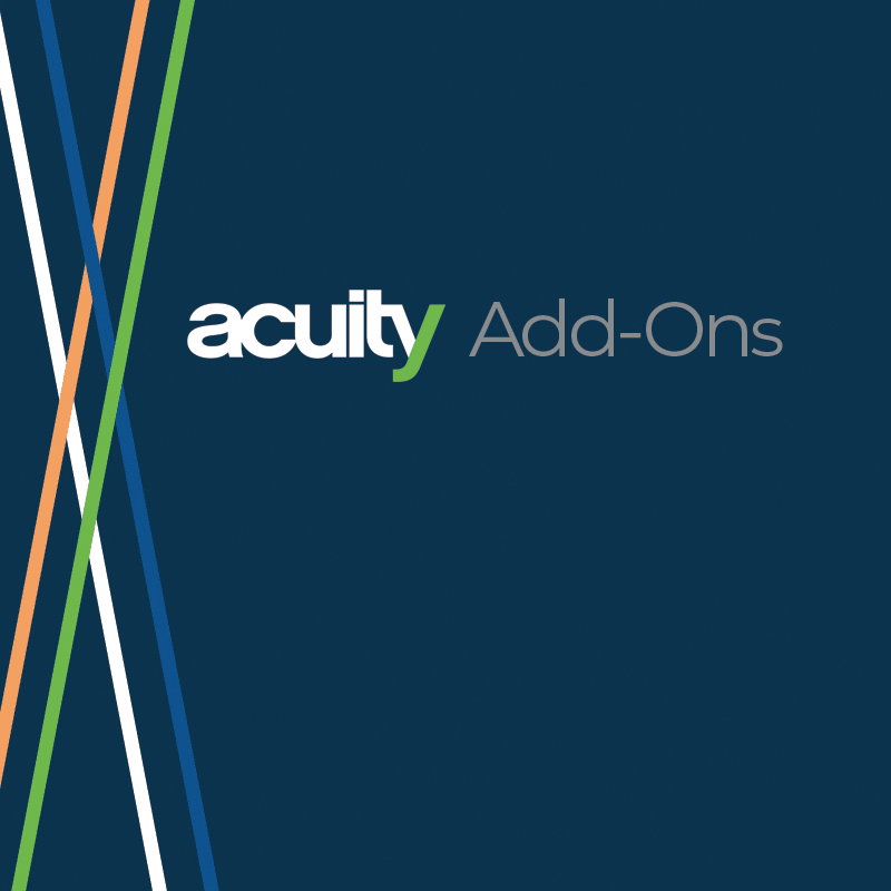 Acuity Add-Ons
